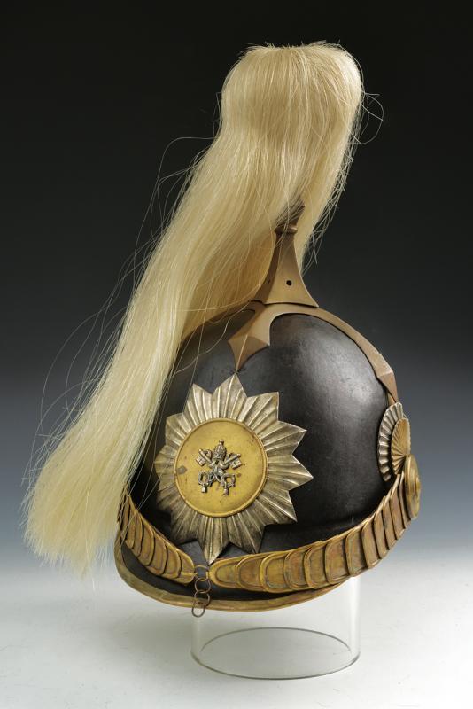 A Swiss Guard Helmet