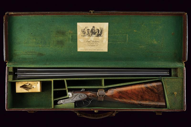 A Charles Boswell Mod. HH cased double-barreled shotgun - Image 19 of 19