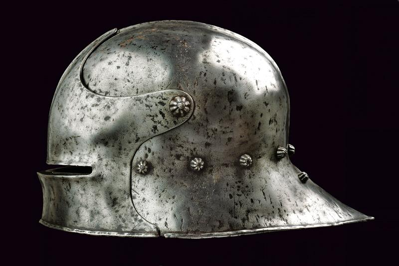 A gothic ventail sallet in early 16th Century style