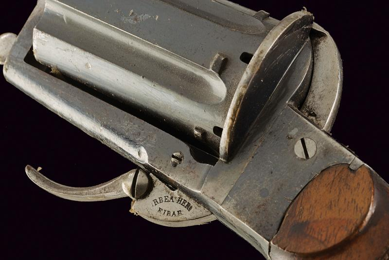 A pin fire pepperbox revolver - Image 3 of 4