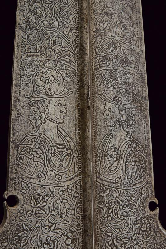An engraved partizan - Image 5 of 8