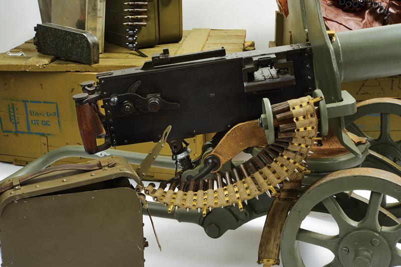 An interesting Maxim machinegun with wheeled mount and accessories (deactivated) - Image 17 of 20