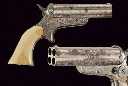 Sharps 4-Shot Pepperbox Pistol