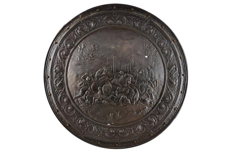 A relief decorated shield - Image 6 of 6
