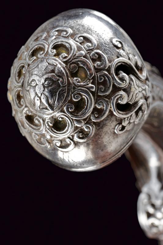 A beautiful flintlock pistol for the oriental market - Image 5 of 14