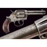 A 1878 Colt Model 'Frontier' D.A. revolver