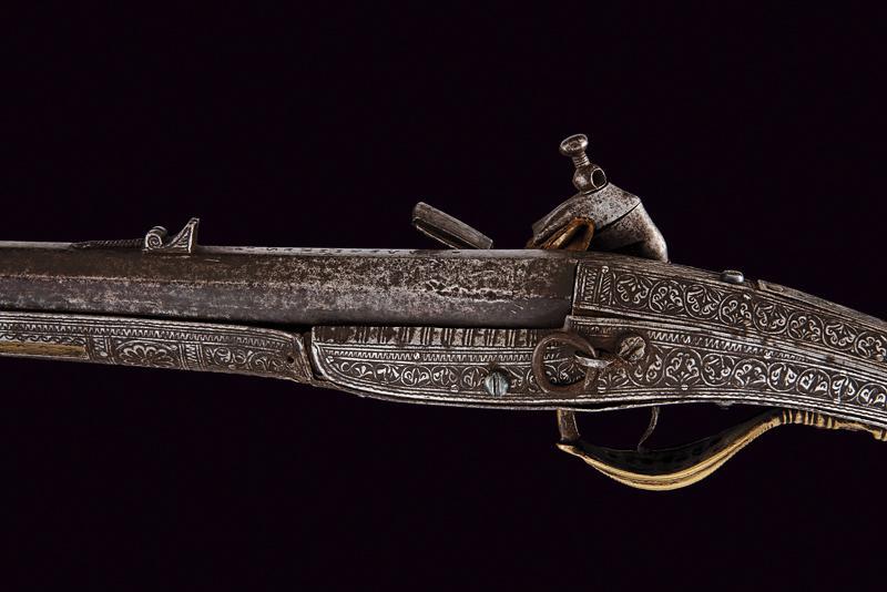 A miquelet flintlock gun - Image 4 of 6