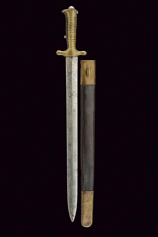 A 1843 model artillery bayonet - Image 5 of 5
