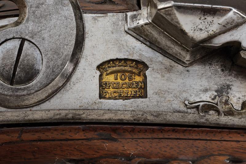 A flintlock gun by Spirckenpichler - Image 7 of 11