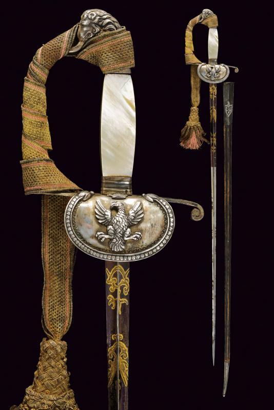 A senior staff officer's small sword