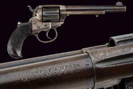 A 1877 Colt Model 'Thunderer' D.A. Revolver