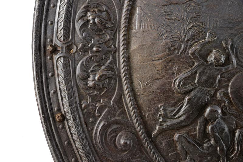 A relief decorated shield - Image 3 of 6