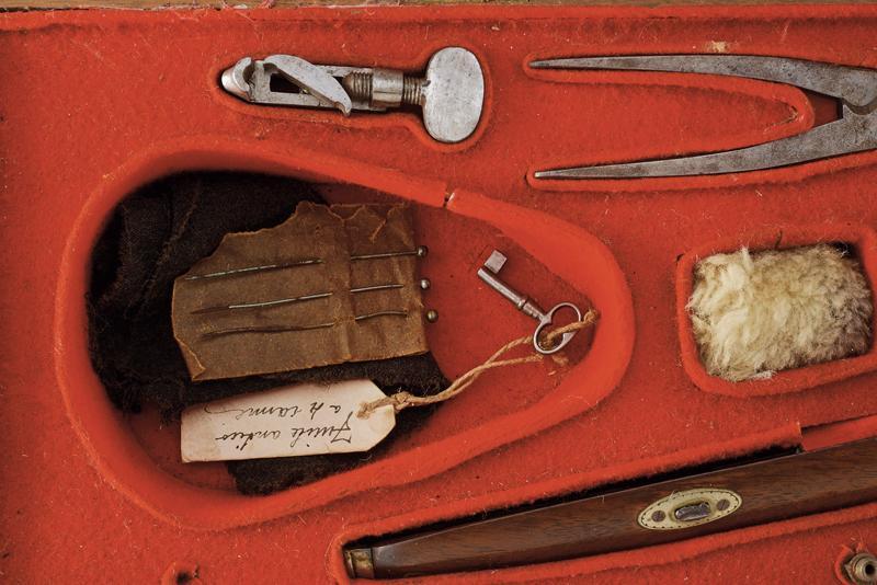 A rare cased four barrelled percussion gun by L. Menichetti - Image 3 of 19