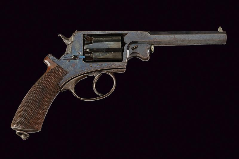 A H. Holland percussion revolver Adams sytem - Image 6 of 6