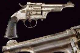 An interesting antique copy of a Merwin, Hulbert & Co. Large Frame D.A. Revolver
