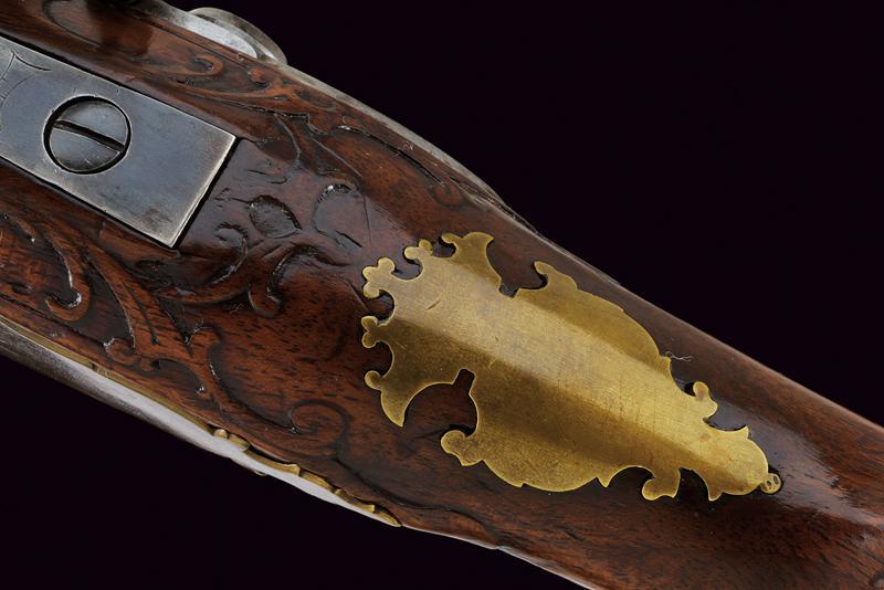 A flintlock gun by Spirckenpichler - Image 9 of 11