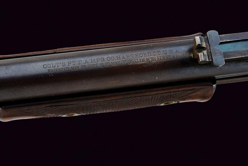 A Colt Lightning Slide Action Carbine, Medium Frame - Image 7 of 9