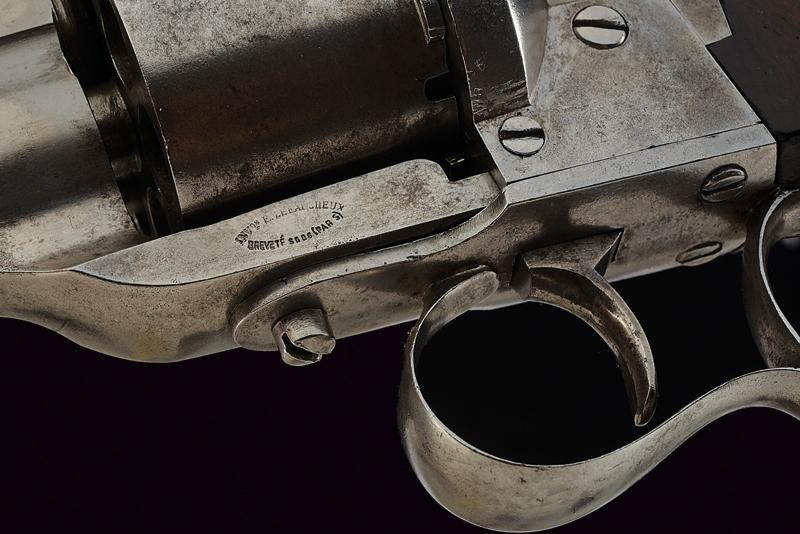 A 'Long-type' Lefaucheux pin-fire revolver - Image 3 of 5