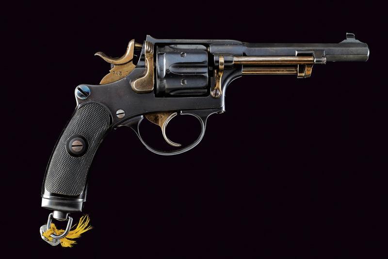 An 1882 model centerfire revolver - Image 8 of 8
