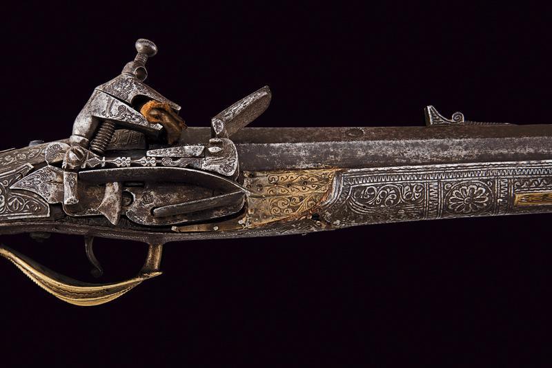 A miquelet flintlock gun - Image 2 of 6