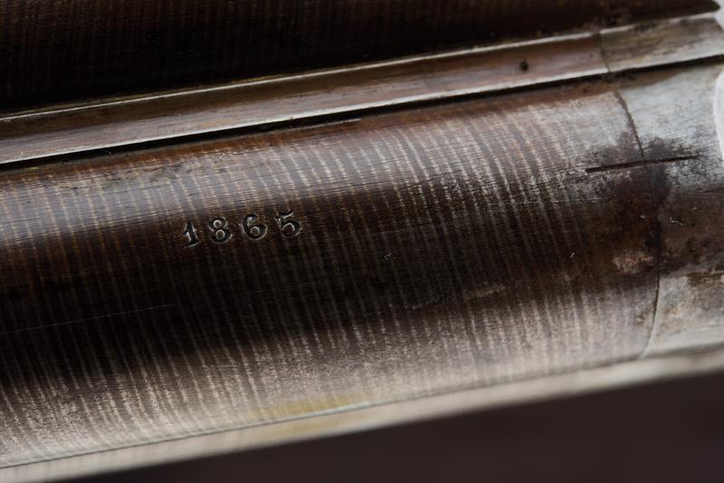 A rare cased four barrelled percussion gun by L. Menichetti - Image 12 of 19