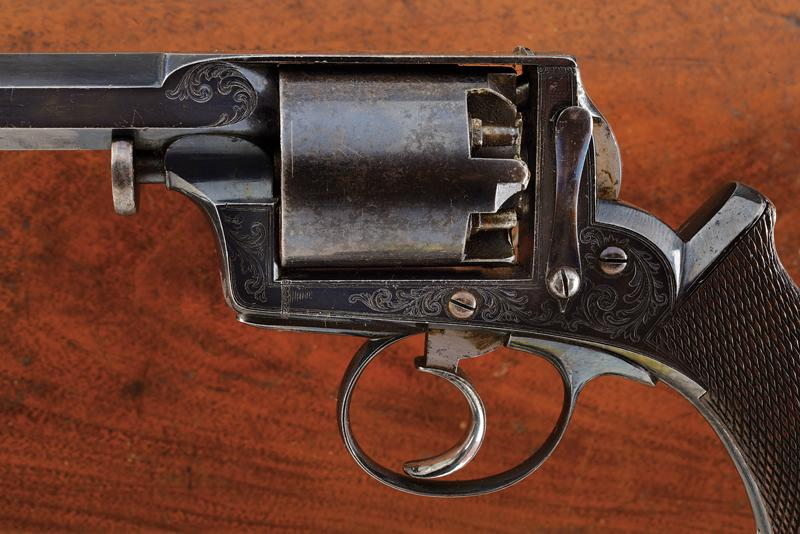 A cased Imperial Patent Tranter Double Action Revolver - Image 2 of 7