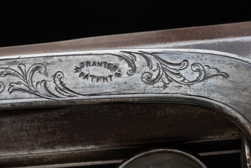 A Tranter percussion revolving carbine - Image 4 of 10