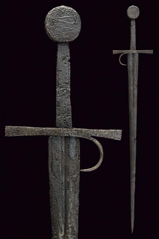 A knightly sword