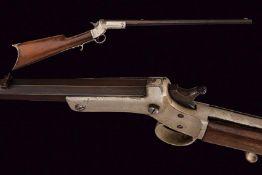 A Stevens Tip-Up rifle