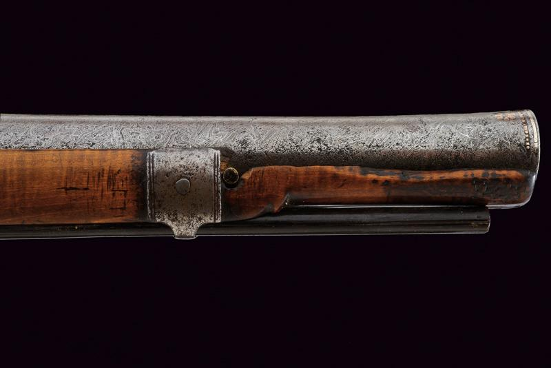 An interesting and rare miquelet flintlock pistol - Image 7 of 9