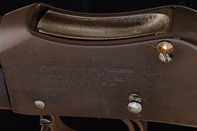 A breechloading Peabody-Martini rifle - Image 4 of 6