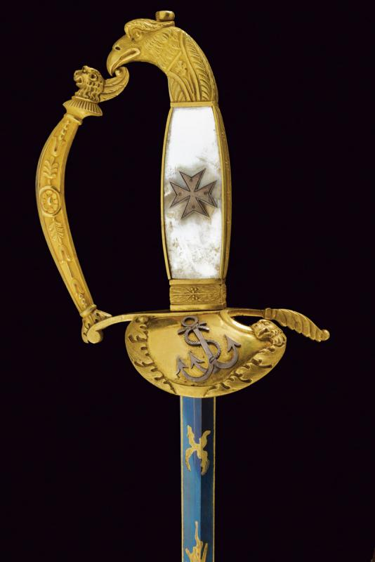 A rare knight's sword of the Military Naval Order of St. Stephen - Image 6 of 13