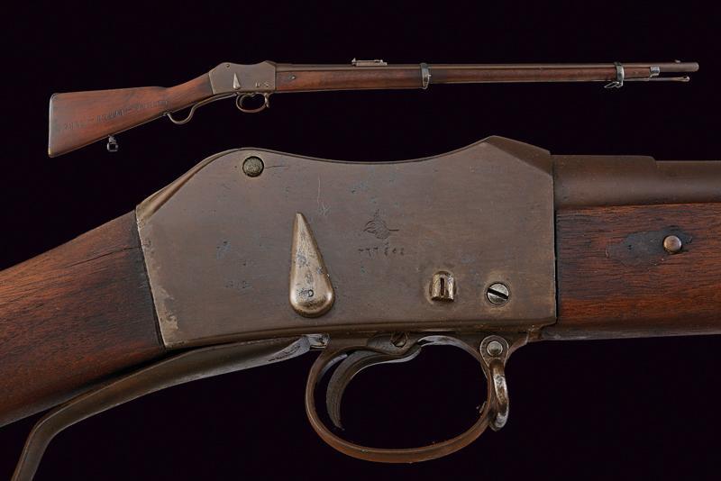 A breechloading Peabody-Martini rifle