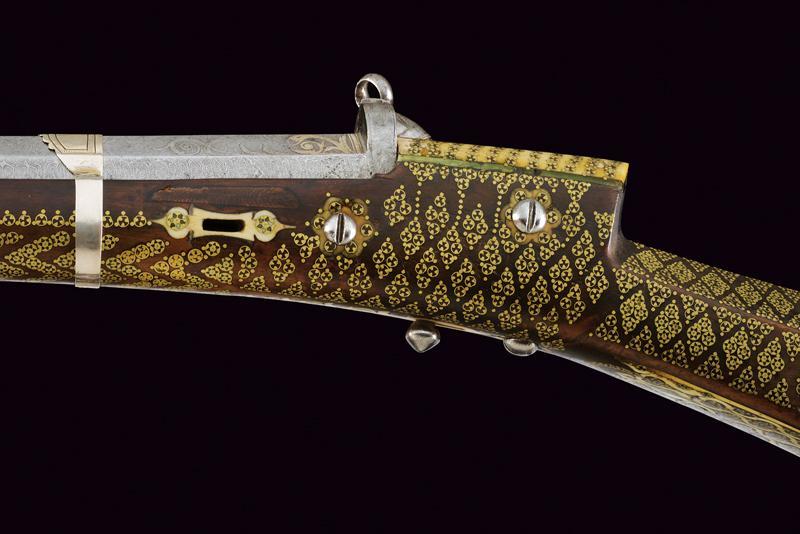 An elegant and rare flintlock tufenk - Image 4 of 13