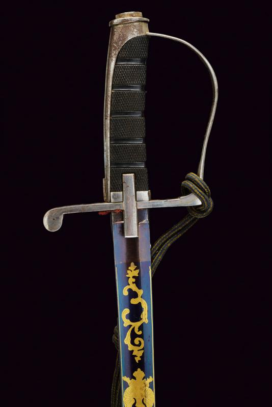 An 1855 model officer's sabre with beautiful blade - Image 5 of 7