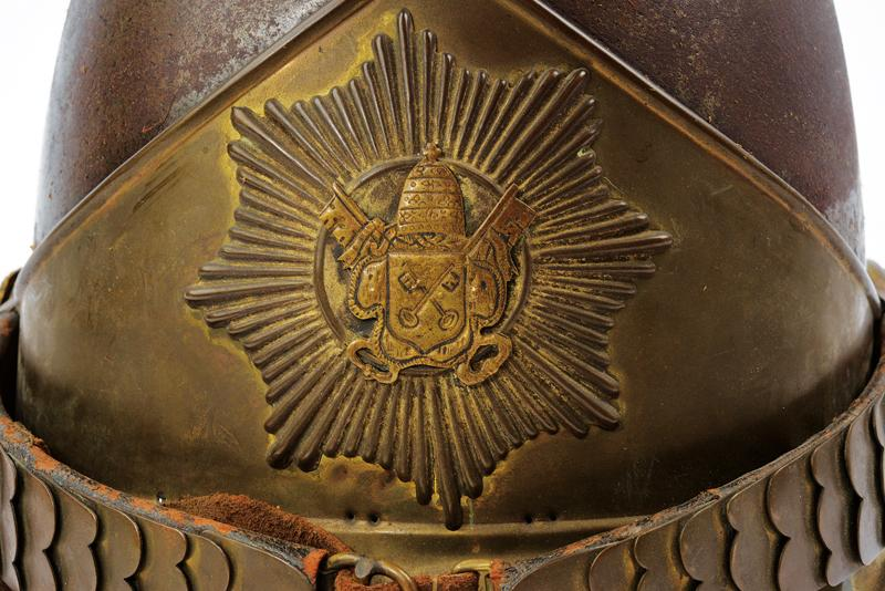 A very scarce Swiss papal Guard Helm - Image 4 of 7