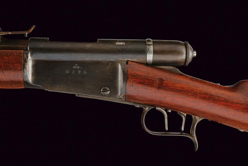 An 1869/71 model breechloading Vetterli Carbine with bayonet - Image 3 of 5