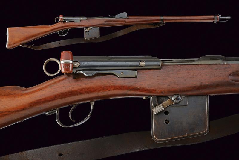 A model 1889 Rubin Schmidt rifle