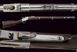 A Remington Rolling Block rifle