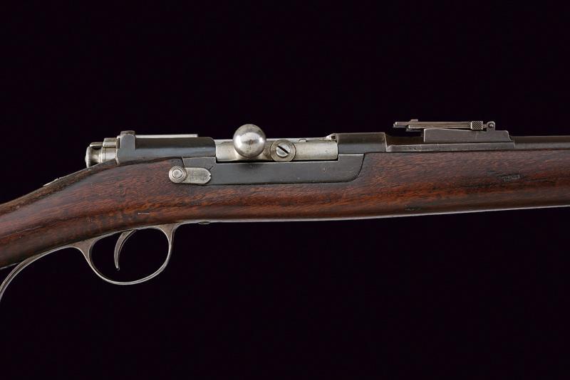 An 1886 Steyr model Kropatschek breech-loading rifle - Image 2 of 6