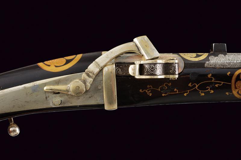 A rare tanegashima matchlock pistol - Image 3 of 14