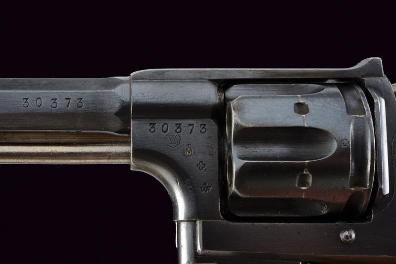 An 1882 model centerfire revolver - Image 5 of 6