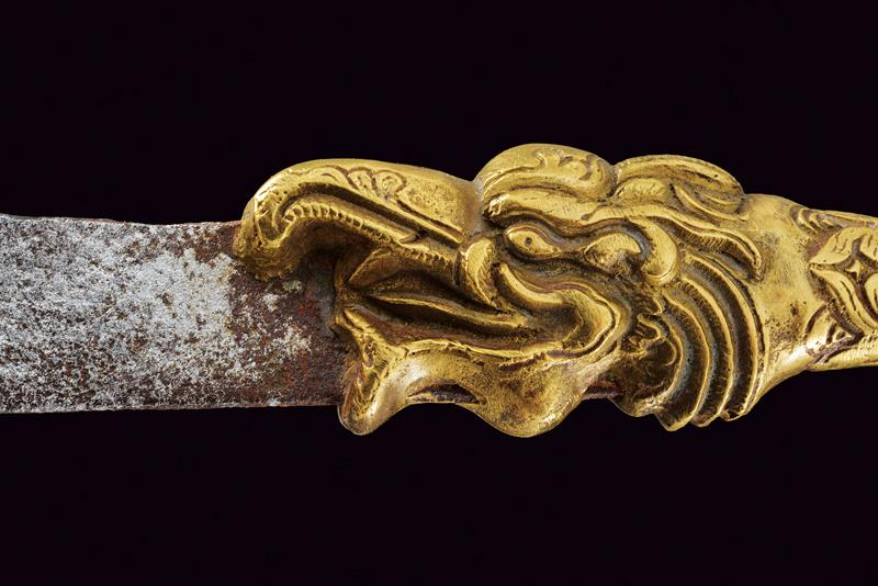 A lot of two small Vajra swords - Image 2 of 3
