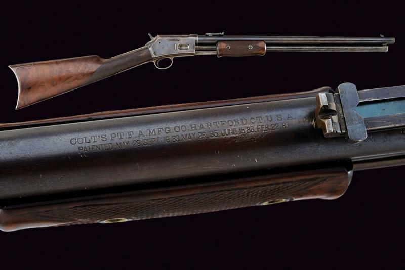 A Colt Lightning Slide Action Carbine, Medium Frame
