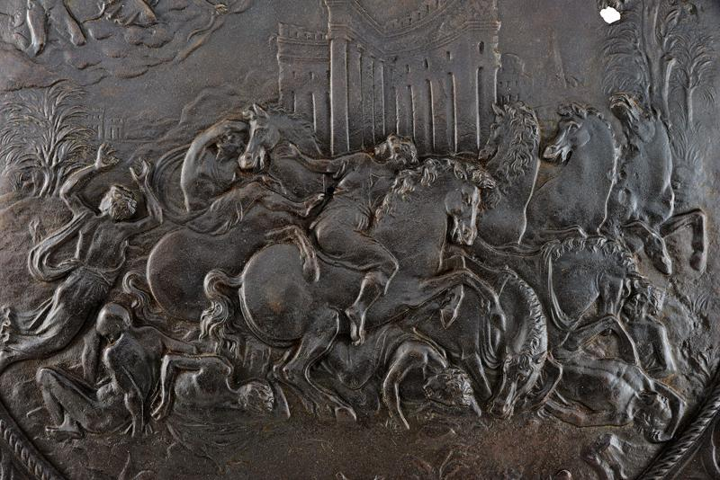 A relief decorated shield - Image 4 of 6