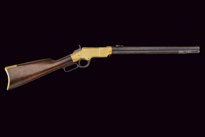 A rare Brass Frame Henry Rifle - Image 11 of 11