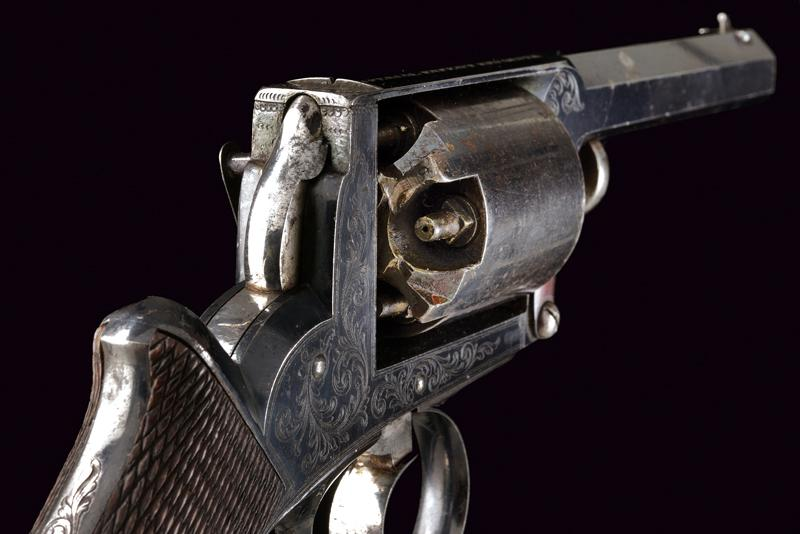 A cased Imperial Patent Tranter Double Action Revolver - Image 7 of 7