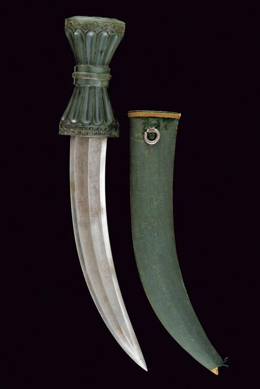 A fine jade hilted kandshar - Image 8 of 8