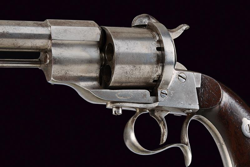 A 'Long-type' Lefaucheux pin-fire revolver - Image 2 of 5