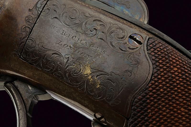 A percussion pepperbox revolver by Richards - Image 4 of 6